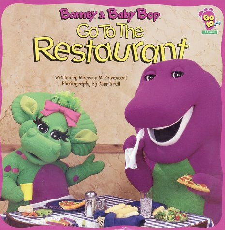 Barney And Baby Bop Go To The Restaurant - Scholastic Inc.