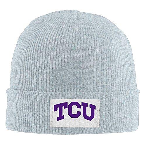 Creamfly Adult Texas Christian University TCU Wool Watch Cap (Series President Watch Mens)
