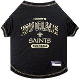 NFL NEW ORLEANS SAINTS Dog T-Shirt, X-Large