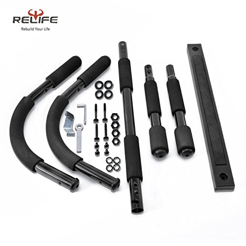 Relife Sports Door Pull Up Bar for Home Gym Body Workout Exercise Strength Fitness Equipment