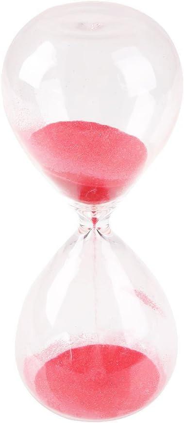 Kicode Cr/éatif Sandglass con/çu color/é Horloge de sablier Timer D/écor de Bureau /à la Maison Cadeau de Jouet