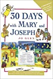 img - for 30 Days with Mary and Joseph:A Sticker Book book / textbook / text book