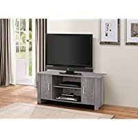 ACME Furniture 91502 Tedros TV Stand for Tvsup To 42, Gray Oak