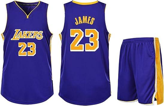 Camiseta de Baloncesto de Lebrón James # 23 Kobe Bryant # 24 ...