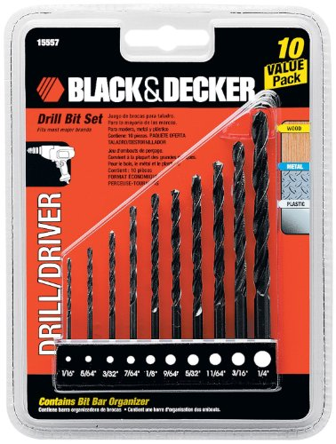 BLACK+DECKER OEM 15557 10 Piece Drill Driver bit setQty Discounts
