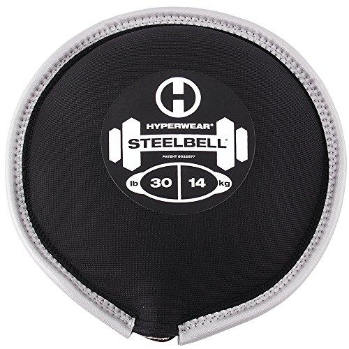 Cheap Hyperwear SteelBell Steel Shot-Filled Neoprene Free Weight, 30-Pound