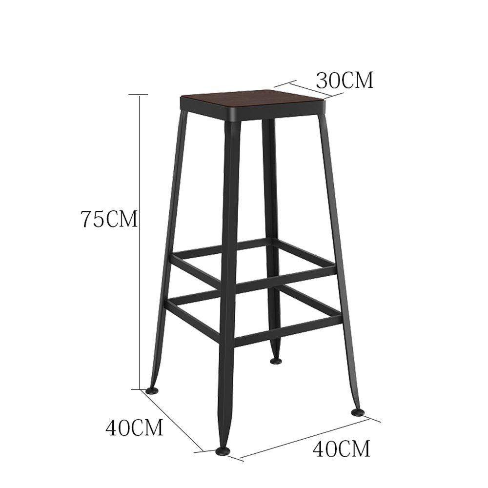 カシオモール近代家具椅子は丈夫で信頼性があります。 彼らはとても快適で強くあります。 バースツールキッチンスツールダイニングスツール座り椅子工業スタイル ( 色 : ウッド うっど , サイズ さいず : 75 cm 75 cm ) B07B1TYH8J 75 cm 75 cm ウッド うっど ウッド うっど 75 cm 75 cm