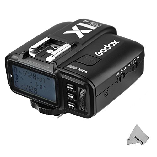 Fomito Godox X1T-F TTL 2.4GHz Wireless Radio Flash Trigger Transmitter X System for Fuji Fujifilm Cameras