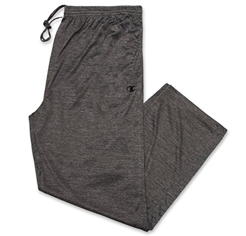 Champion Men's Big-Tall Powertrain Solid Pant Charcoal/Heather 3XT