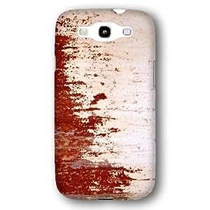Blood Rust Metallic Metal Pattern Samsung Galaxy S3 Slim Phone Case