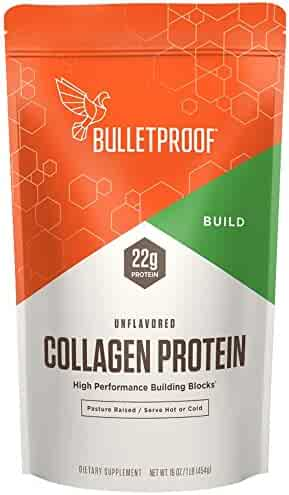 Bulletproof Collagen Protein, Amino Acid Building Blocks for High Performance (16 Ounces)