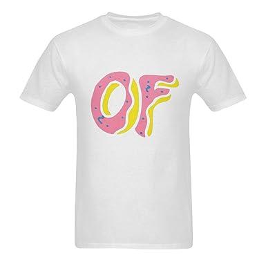 3fb40a1bbce970 Customizable Fashion Men s Cotton Graphic Tee Print T-Shirt - Odd Future  OFWGKTA Golf Wang
