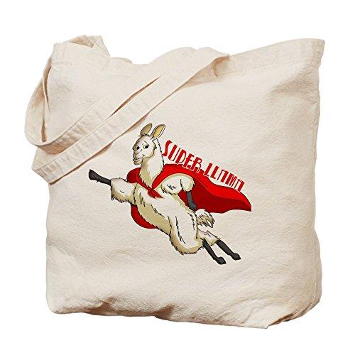 CafePress–Super llama–Gamuza de bolsa de lona bolsa, bolsa de la compra