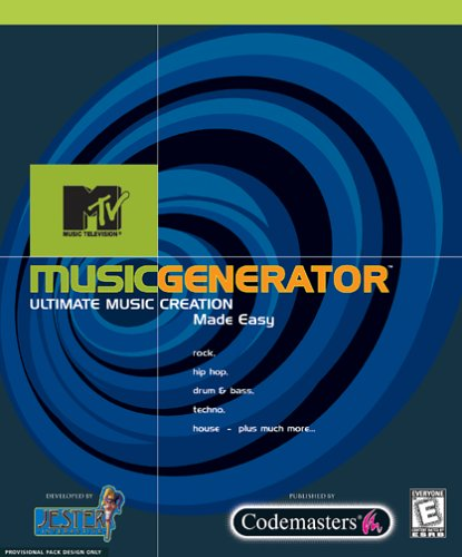 MTV Music Generator (Jewel Case) Atari mc12r03rd0928110041