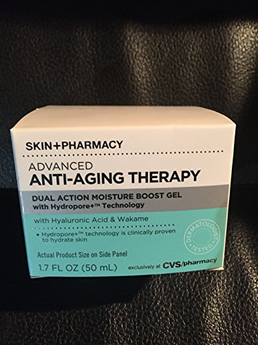 SKIN + PHARMACY Advanced Anti-Aging Therapy Moisture Boost Gel 1.7 fl.oz.