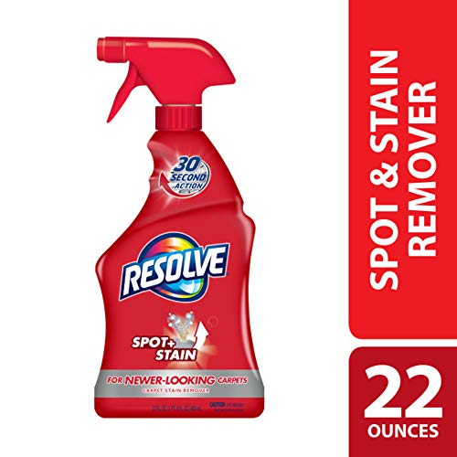 Resolve Carpet Spot & Stain Remover, 22 fl oz Bottle, Carpet Cleaner (Best Way To Remove Makeup From Carpet)