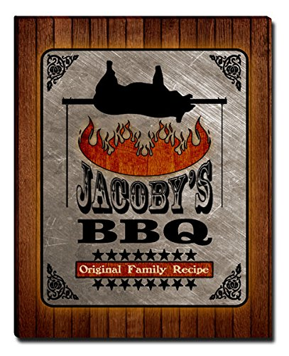 - ZuWEE Jacoby's Family Barbeque Gallery Wrapped Canvas Print
