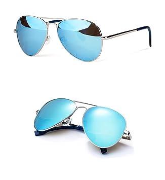 WANGMIN® Sonnenbrille Mode Pilot Stil Männer Frauen Vintage Oval Linse Classic Braun Driving Adult Brille Eyewear , D