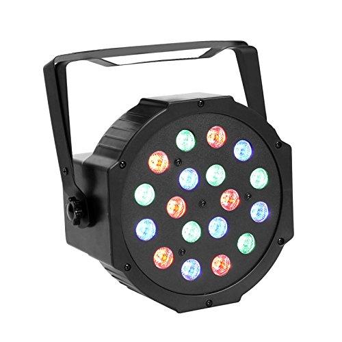 GBGS 18LED Par Lights DJ Up Lighting DMX512 Stage Lighting with RGB Magic Effect