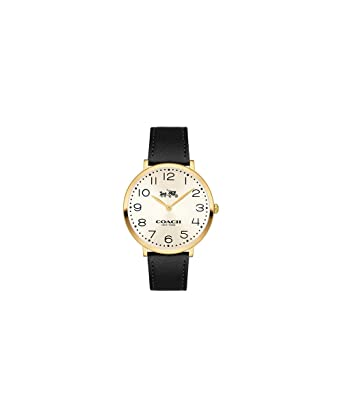 2c79cab3f627c Amazon.com  COACH Women s Slim Easton - 14502683 Chalk One Size  Watches