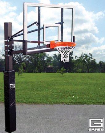 Endurance ®バスケットボールPlaygroundシステムwith 4 '拡張子 B0049W9R7C