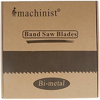 "100/"" 8/'-4/"" x 3//4/"" x .035/"" x 8//12N Band Saw Blade M42 Bi-metal 1 Pcs"