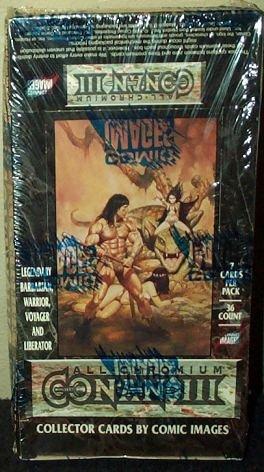 Conan III All Chromium 3 Collector Trading Cards Box -36 ...