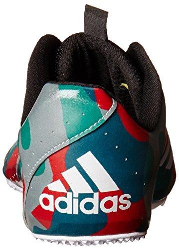 Scarpa Adidas Mens Sprinttar Track Grigia / Bianca / Rossa