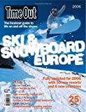 Time Out Ski and Snowboard Europe, , 0903446235
