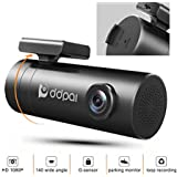 DDPAI Minipro Wi-Fi 1080p Dash Cam, F1.8 WDR for Super Night Vision, Discreet Dashboard Camera Recorder with Sony Exmor CMOS Image Sensor, G-Sensor, Loop Recording, Parking Mode(SD Card not Included)