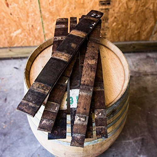 - Authentic Bourbon/Whiskey Barrel Staves