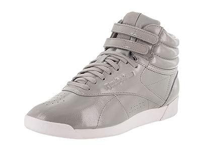 ac6299cd6537 Reebok Women s F S Hi Iridescent Walking Shoe Powder Skull Grey White