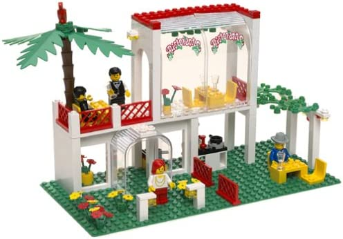 B0000789SI LEGO Legend 10037 Breezeway Cafe (Reissue of Town 6376) 51HSNFMXW5L.