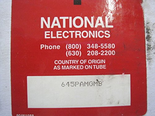 NEW NATIONAL ELECTRONICS 645PAMGMB CRT TUBE