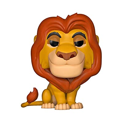 Funko Pop! Disney: Lion King - Mufasa Toy, Standard, Multicolor: Toys & Games