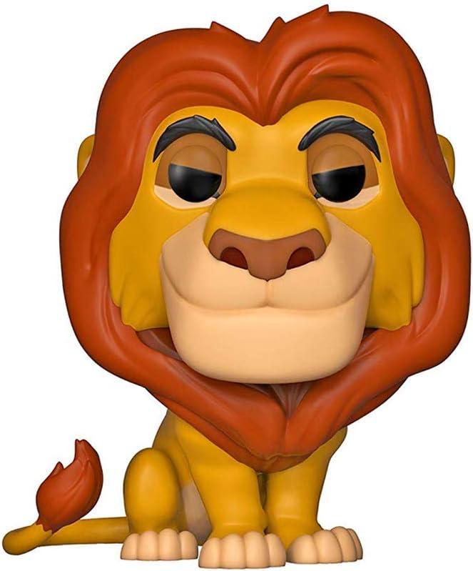 Funko 36391 Pop Vinyl: Lion King: Mufasa, Multi Disney Figura Coleccionable, Multicolor, Talla Única