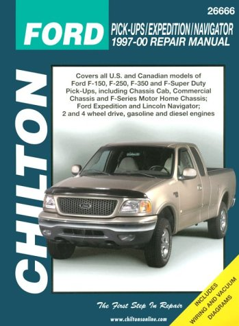 Expedition Diamond Ford - Ford Pick-ups, Expedition, and Navigator, 1997-00 (Chilton's Total Car Care Repair Manual)
