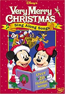 disneys sing along songs very merry christmas songs - Mickeys Once Upon A Christmas Vhs