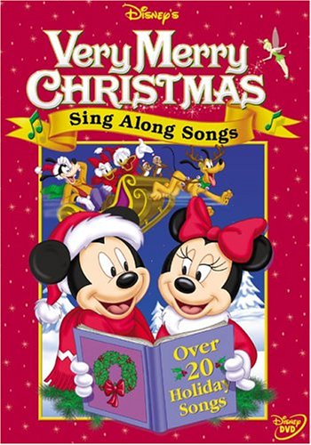 amazoncom disneys sing along songs very merry christmas songs roscoe lee browne wayne allwine tony anselmo jodi benson eddie carroll