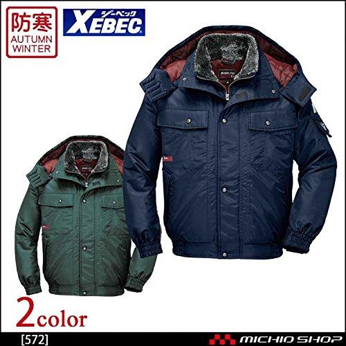 ジーベック 防水防寒ブルゾン 572 作業服 B07BK2HGXD 3L|60グリーン 60グリーン 3L