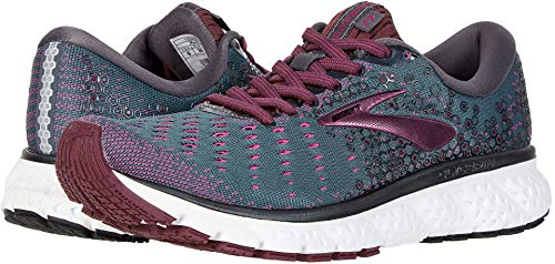 Brooks Women's Glycerin 17 Ebony/Wild Aster/Fig 7 B US
