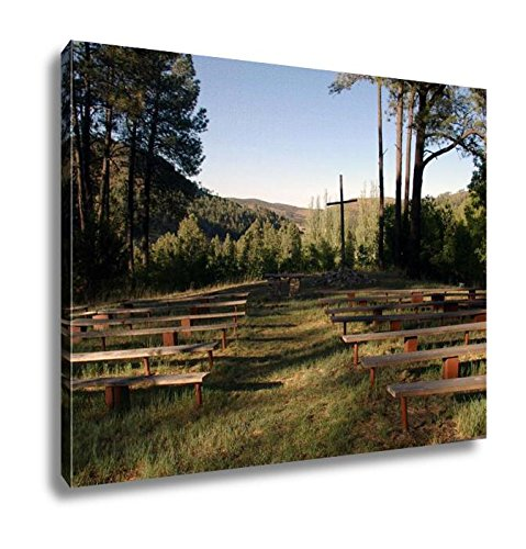 Ashley Canvas Outdoor Chapel, Kitchen Bedroom Living Room Art, Color 24x30, AG6514945 by Ashley Canvas