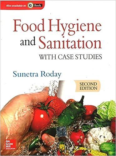Food Hygiene And Sanitation S Roday 9780070700208 Amazon