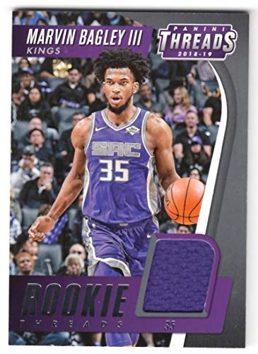 Marvin Bagley III 2018-19 Panini Threads Rookie Threads JSY #26 NM-MT MEM Sac Kings Basketball NBA from Threads