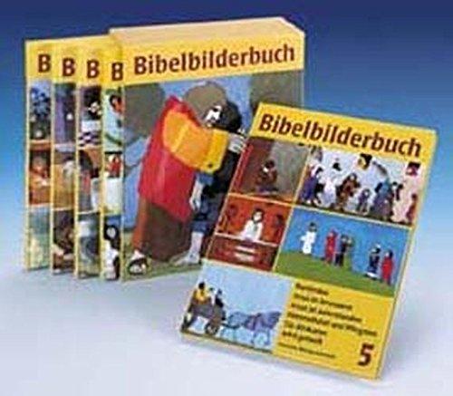 Was uns die Bibel erzählt / Bibelbilderbuch: Buchkassette Band 1-5