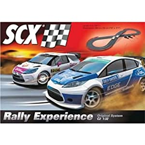 Scx 1 32 Scale C2 Rally Experience Slot Car Set 16 7
