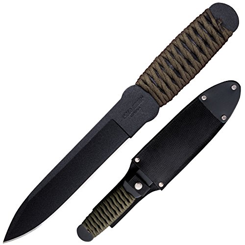 Cold-Steel-80TFTCZ-True-Flight-Thrower-Survival-Knife-GreenBlack