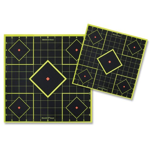 - Birchwood Casey Shoot-N-C 12-Inch Sight in Target (12 Sheet Pack)