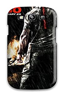 High-end Case Cover Protector For Galaxy S3(rambo Movie)