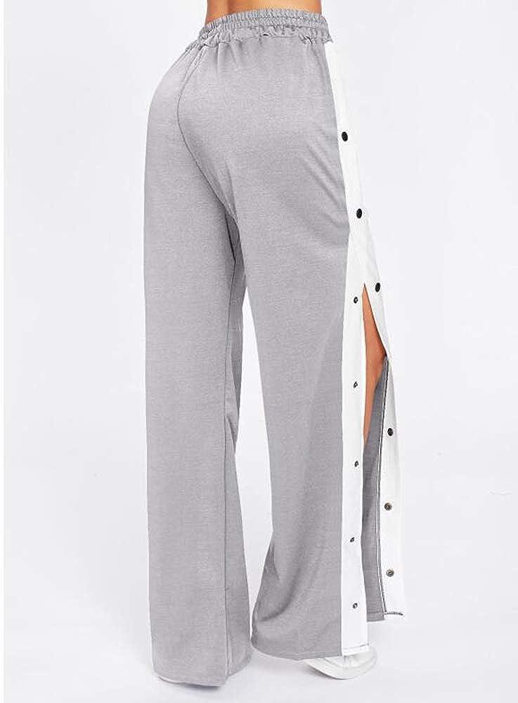 Domorebest Mujer Pantalones y Pantalones de Pierna Ancha